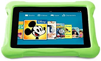 Kindle FreeTime Kid-Proof Case for the All New Kindle Fire HD, Green (does not fit previous generation HD model)