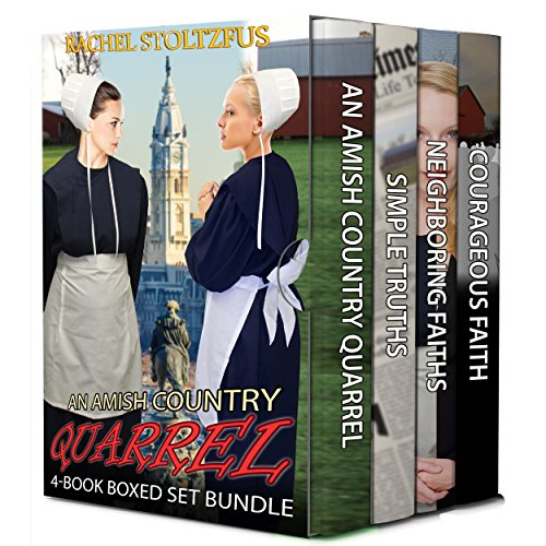 An Amish Country Quarrel 4-Book Boxed Set by Rachel Stoltzfus
