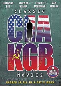 Classic CIA/KGB Movies (The Deadly Recruits, Laser mission, The Man Outside)