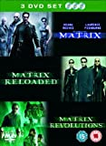 The Matrix Trilogy : Matrix / Matrix Reloaded / Matrix Revolutions (3 Disc Box Set) [DVD]