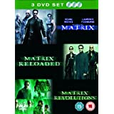 The Matrix Trilogy : Matrix / Matrix Reloaded / Matrix Revolutions (3 Disc Box Set) [DVD]by Jada Pinkett Smith