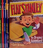 img - for Flat Stanley His Original Adventure / Stanley and the Magic Lamp / Invisible Stanley / Stanley in Space / Stanley, Flat Again - 5 Book Set (Flat Stanley) book / textbook / text book