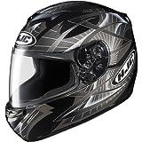 HJC Storm Men's CS-R2 Sports Bike Racing Motorcycle Helmet - MC-5 / Large