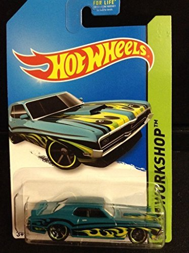 2014 Hot Wheels Hw Workshop '69 Mercury Cougar Eliminator - 1