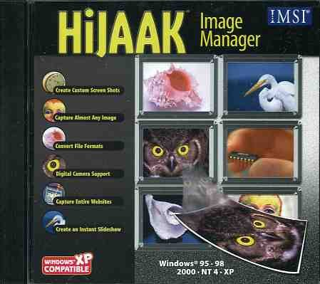 HiJaak Image Manager