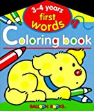 img - for Balloon: First Words Coloring Book 3-4 Years book / textbook / text book