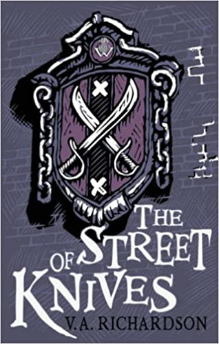 The Street of Knives V A Richardson The House Of Windjammer 3 Books Collection Set