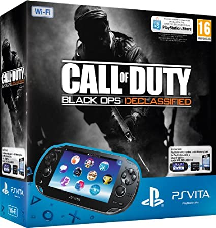 PlayStation Vita WiFi Console with Call of Duty: Black Ops II Declassified and 4GB Memory Card (PlayStation Vita)