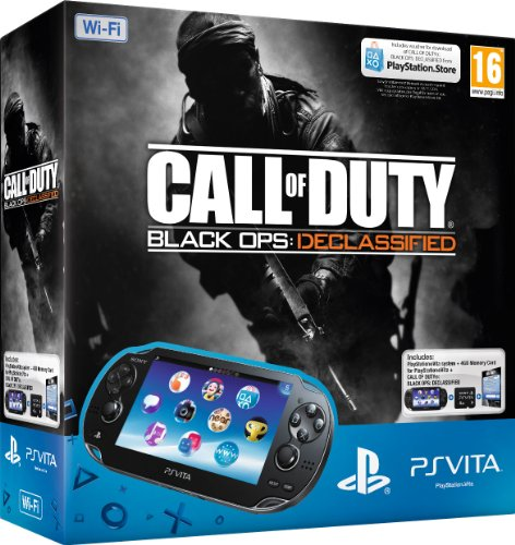 Console Playstation Vita Wifi + Call of Duty : Black Ops Declassified voucher + 4 GB memory card [import anglais]