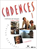 img - for Cadences: Cassettes 1 (2) (French Edition) book / textbook / text book