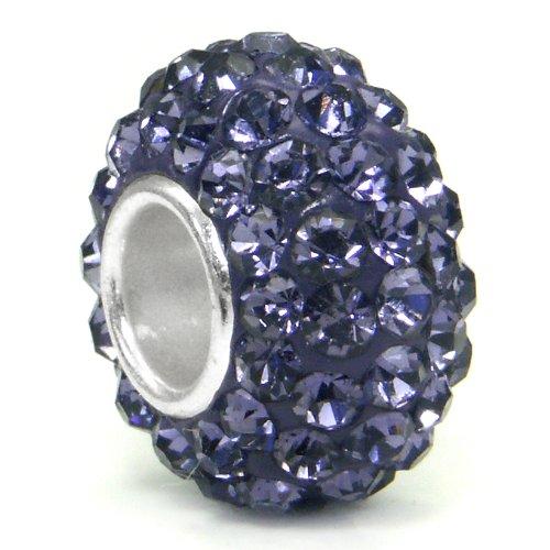 Swaroski Alexandrite Lavender Crystal Ball Bead