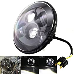 7 INCH LED HEADLIGHT HI/LOW BEAM WITH DRL FOR ALL ROYAL ENFIELD BULLET 1PC