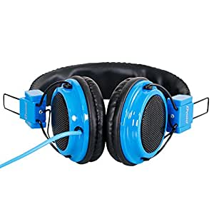 Headphone For Lava Iris Atom X Headphone Compatible (Blue)