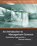 img - for An Introduction to Management Science: Quantitative Approaches to Decision Making book / textbook / text book