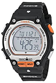 """Timex Men's T5K582 """"Ironman"""" Watch with Black Resin Band"""