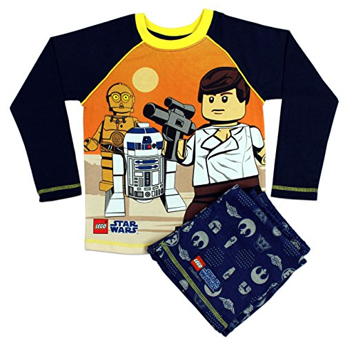 Character Boys' Lego Star Wars Pajamas Size 8