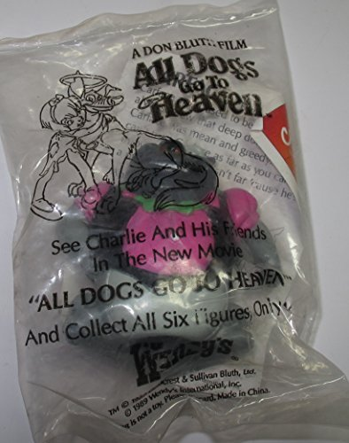 Vintage Kids Meal Toy All Dogs Go to Heaven