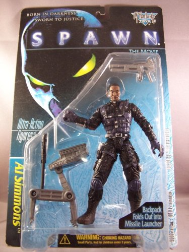 SPAWN AL SIMMONS ACTION FIGURE MCFARLANE - 1