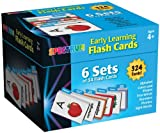 Early Learning Flash Cards: 6 Sets of 54 Flash Card (Spectrum Flash Cards)