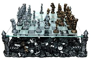 3D Knight Chess Set