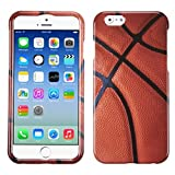 MyBat Phone Protector Cover for  iPhone 6 - Retail Packaging - Basketball-Sports Collection