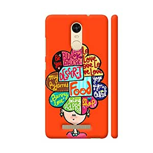 Colorpur What Is In My Mind Artwork On Xiaomi Redmi Note 3 Cover (Designer Mobile Back Case) | Artist: Woodle Doodle