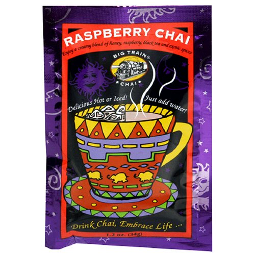 Big Train Raspberry Chai, 1.2-Ounce Bags (Pack of 25)