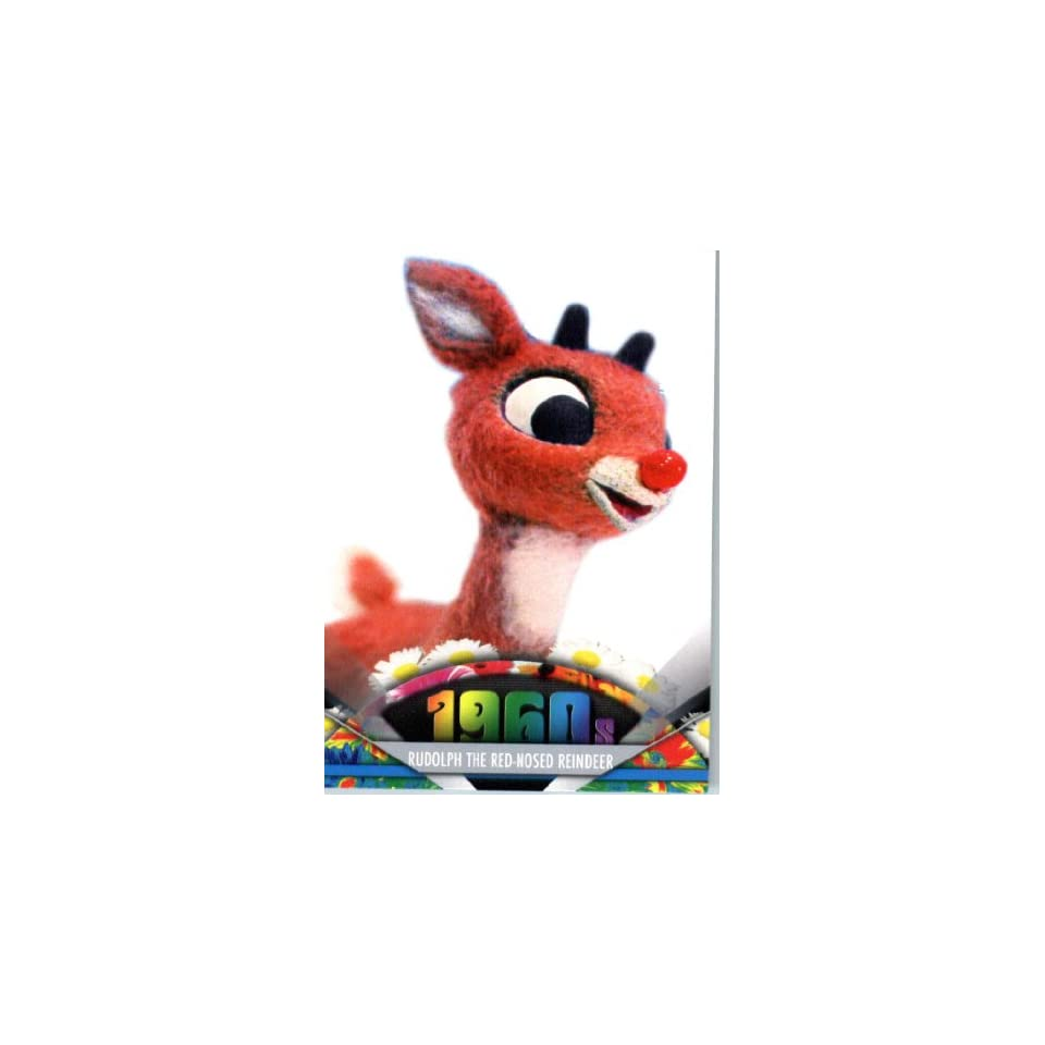 2011 Topps American Pie Card #88 Rudolph the Red Nosed Reindeer   ENCASED Trading Card