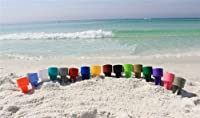Tropical Spiker Beach Beverage Holder, Assorted Colors from Spiker