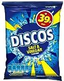 KP DISCOS SALT & VINEGAR CRISPS 30x34g