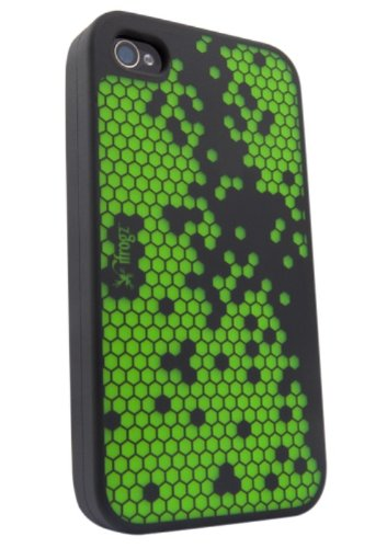 IFROGZ - IPHONE 4 ORBIT BURST HUELLE GRUEN AUS SILIK