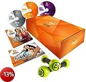 Zumba Fitness, 3 DVD + 1 coppia di pesi piccoli Gold
