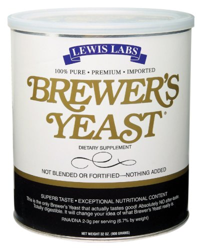 Lewis Labs - Brewer's Yeast, 32 oz powder