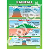 Rainfall Geography Educational Wall ChartPoster in laminated paper A1 850mm x 594mm