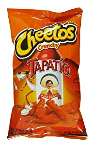 Cheetos Crunchy, Tapatio Tapatio Salsa Picante Hot Sauce Flavored Cheese Snacks, 9.5 Oz. Bags (Pack of 3) by Frito-Lay