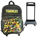 Ninja Turtles Roller Backpack 16 with Stationery Set