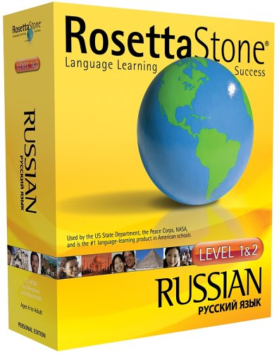 Rosetta Stone V2 Russian Level 1-2 OLD VERSIONB000078COJ