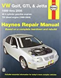 HAYNES REPAIR MANUAL for VW GOLF/JETTA NUMBER 96018