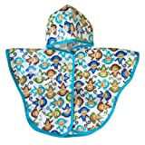 Satsuma Designs Baby and Toddler Poncho, Monkey