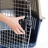UWOP Tier-Transportbox mit Metallgittertür, groß,  ca. 79 x 56.5 x 58.5 cm -