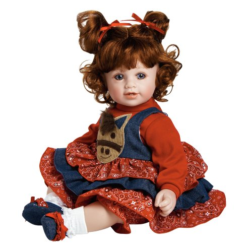 Adora-Baby-Doll-20-Giddy-Up-Girl-Red-HairBlue-Eyes