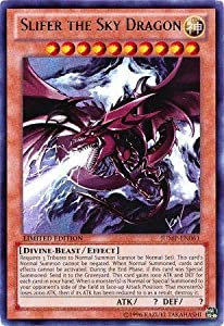 Yu-Gi-Oh! - Slifer the Sky Dragon (JUMP-EN061) - Shonen Jump Promo - Limited Edition - Ultra Rare