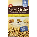 Post Selects Cereals, Banana Nut Crunch, 15.5-Ounce (Pack Of 4)