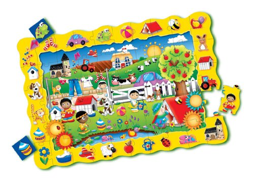 Cheap Fun The Learning Journey Puzzle Doubles Find It! Friends Floor Puzzle (B000PA034I)