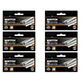 Value Pack of 6 Boxes Stanley Bostitch B8 Powercrown Premium 1/4
