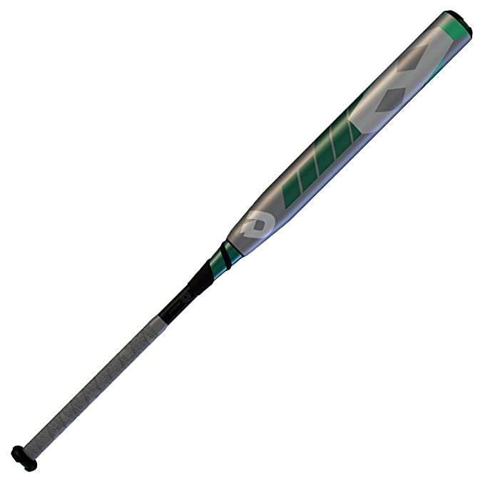 Wilson Demarini 2016 CF8 Slapper Fastpitch Bat (-10), Grey/Teal/Forest/White