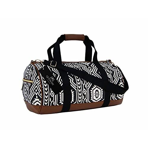 Canvas Travel Holdall Duffel Weekend <strong>Overnight< strong> Aztec Inca Print <strong>Bag< strong> QL6154M