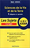 ABC Bac : Sciences de la Vie et de la Terre, Bac S