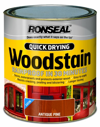 ronseal-qdwsap250-250ml-woodstain-quick-dry-satin-antique-pine