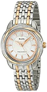 Bulova Women's 98R153 Precisionist Brightwater Two-Tone Stainless